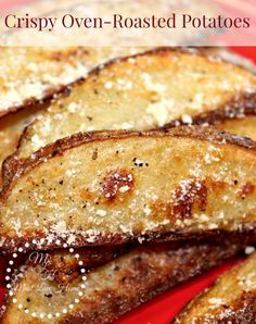 The most Amazing Crazy Delicious Crispy Roasted Potato Wedges - the best potatoes you will ever eat!