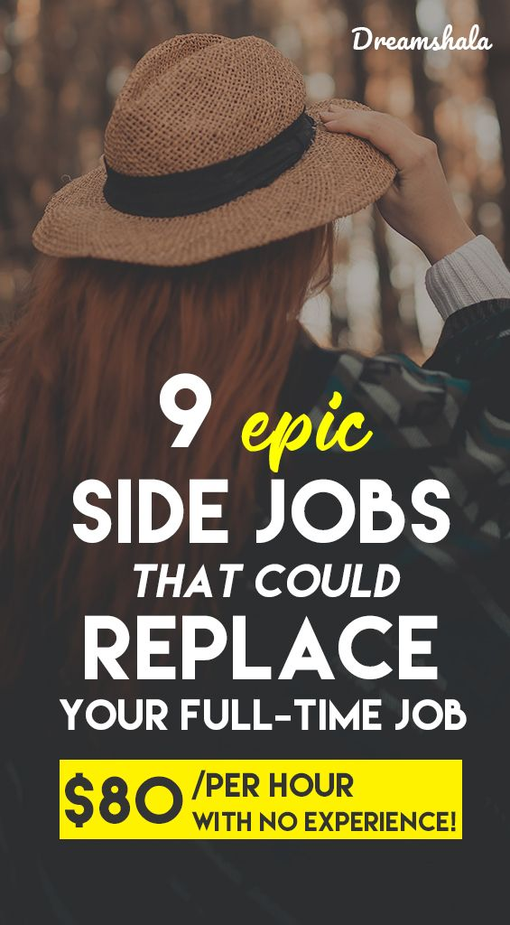 9 epic side jobs that pay $80 per hour or more to work from home.