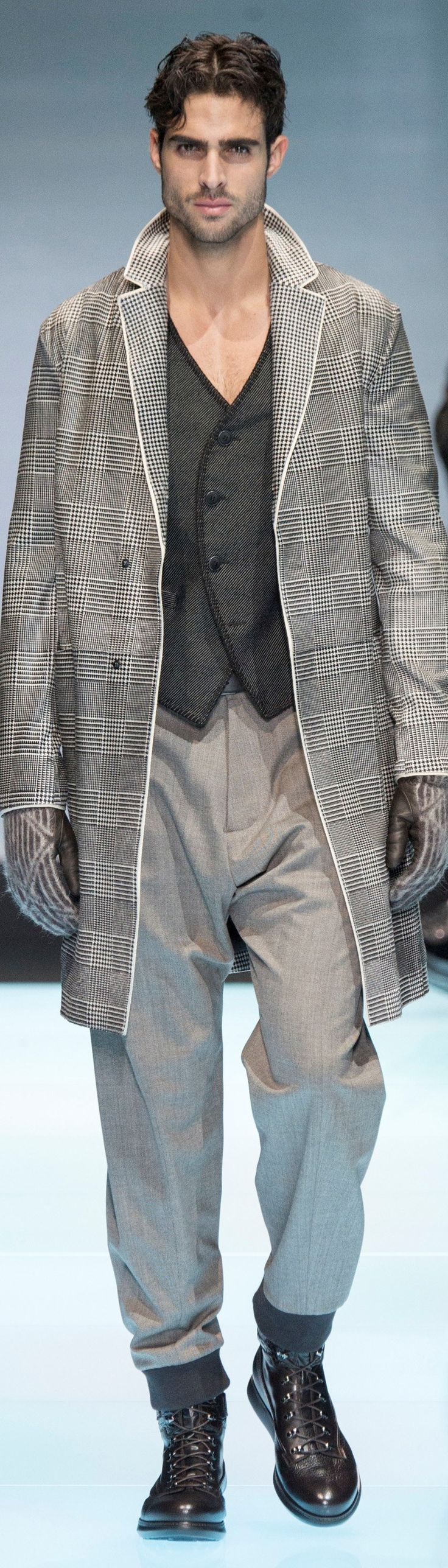 Giorgio Armani - Menswear Fall 2016