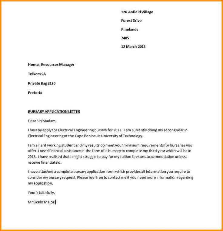 Sample Application Letter For Ojt In Bank on