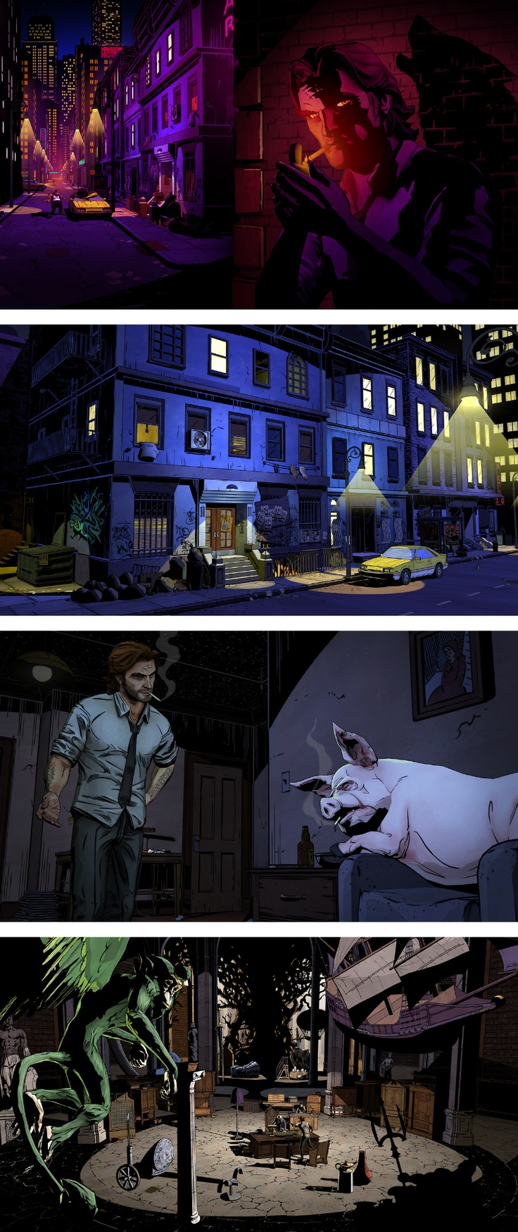 Best Games In General Images On Pinterest Videogames Indie - The wolf among us road map