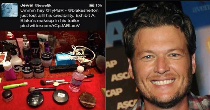 Who doesn't love THE VOICE and BLAKE SHELTON? Jewel snapped a photo of Blake Shelton's make-up table... Look what's in Blake Shelton's arsenal!!! -- Rodan + Fields REDEFINE EYE CLOTHS! Rejuvenating, brightening and filled with anti aging peptides! And the PERFECT stocking stuffer