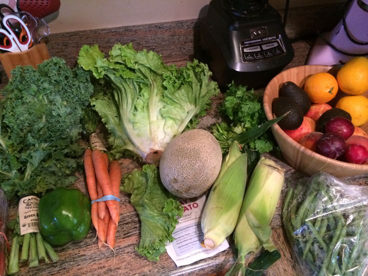 My organic delivery...from FARM FRESH TO YOU!  Love it. #nongmo #organicdelivery #farmfreshtoyou #truefoodteam