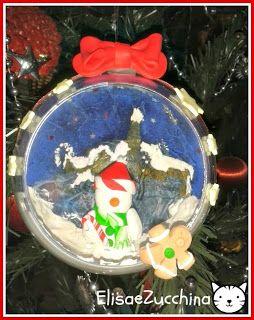 Handmade christmas ball by www.elisaezucchina.it