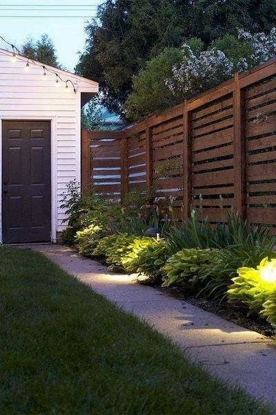 41 cute farmhouse fence for small front yard privacy on backyard fence landscaping id=40069