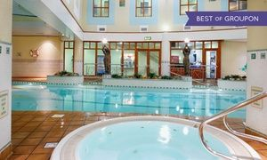 Groupon - Cork City: 1 to 3 Nights for Two with Breakfast, Dinner and Leisure Access at The Metropole Hotel Cork in Cork. Groupon deal price: €79