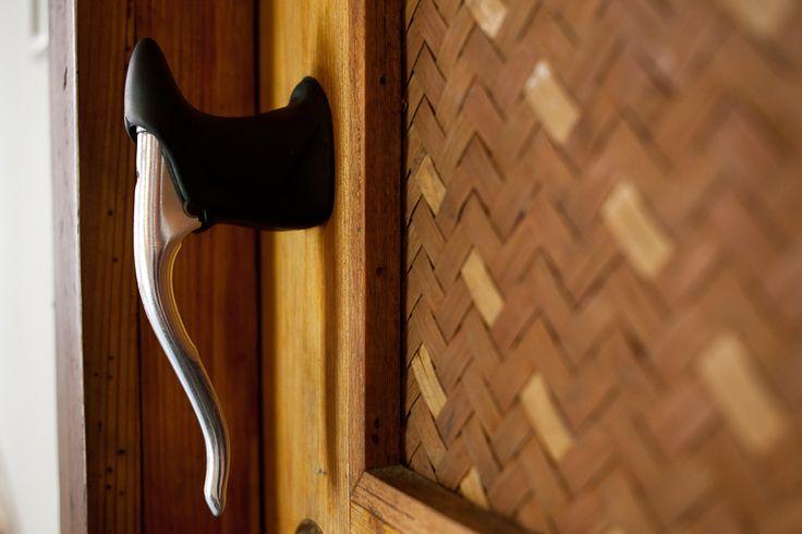 #Bike-inspired doorknob
