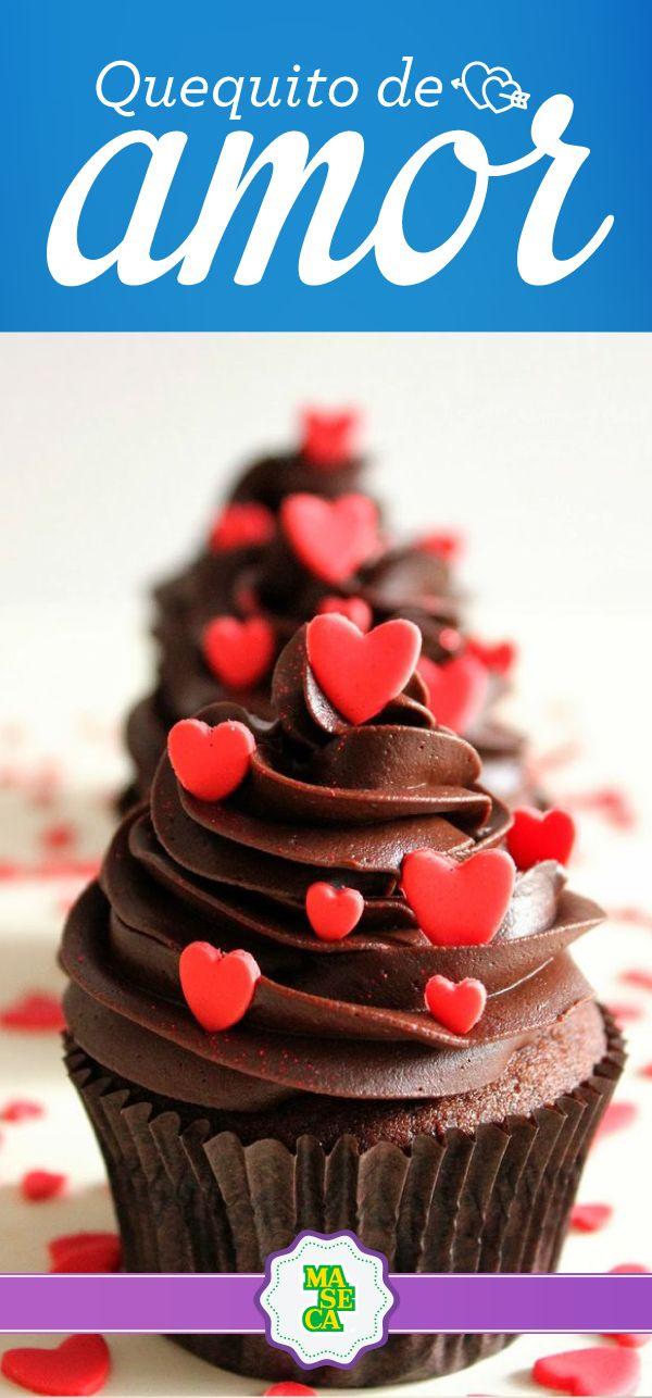 ¿Qué tal un detalle así para tu persona especial? #Recetas #Dulces #Chocolate #Febrero #SanValentín #Cupcake #Love #Amor