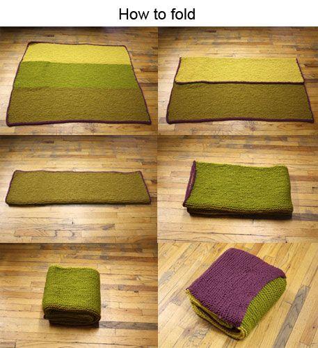 Knitting Pattern Travel Blanket : car blanket / pillow crochet/knit/tatting Pinterest