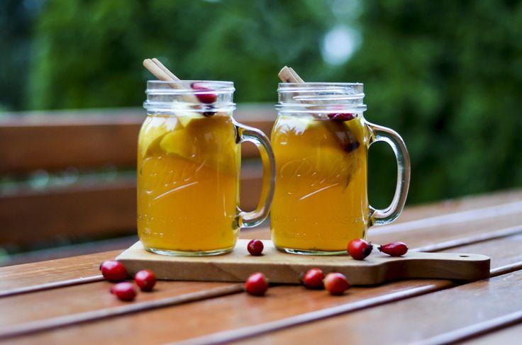 Horký jablečný cider