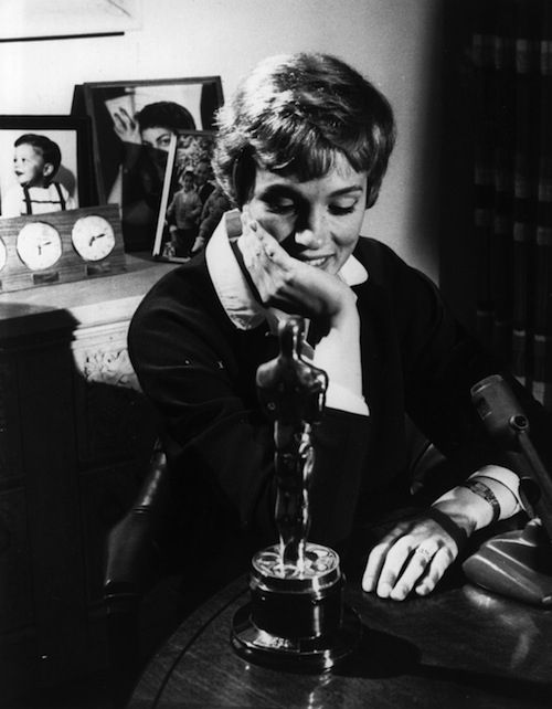 """Julie Andrews agreed to make """"Mary Poppins"""" after she was turned down for the role of Eliza Doolittle in the film version of My Fair Lady ."""