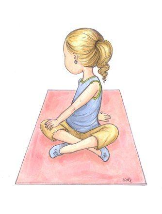 Yoga for Kids: Thanksgiving yoga for kids ABC Gratitude game