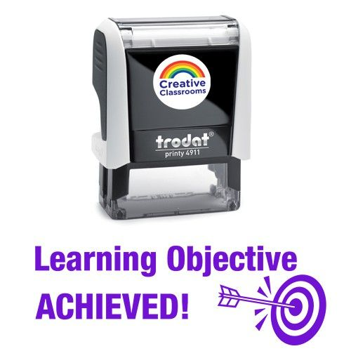 Learning Objective Achieved | Stamps