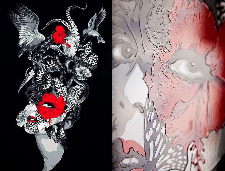 El juego de texturas de Juliette Clovis y su naturaleza única