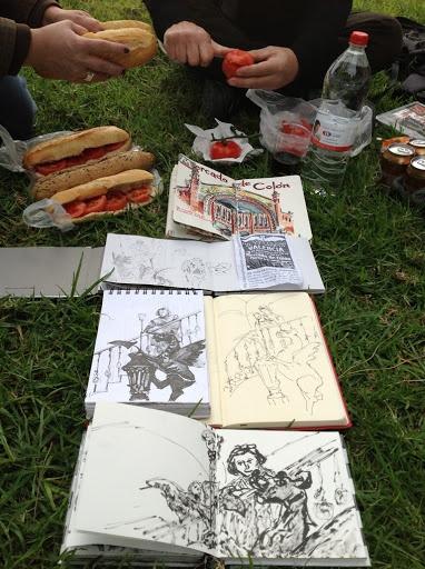 de vuelta con el cuaderno: Clara y el dragón