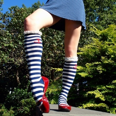 Nautical #socks