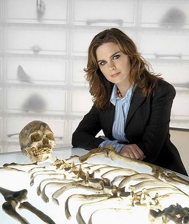 Emily Deschanel  Bones TV series - Dr. Temperance Brennan