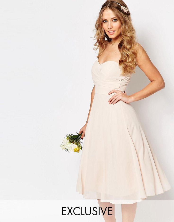 TFNC+WEDDING+Prom+Midi+Dress