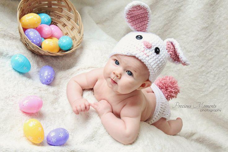 Easter baby photoshoot