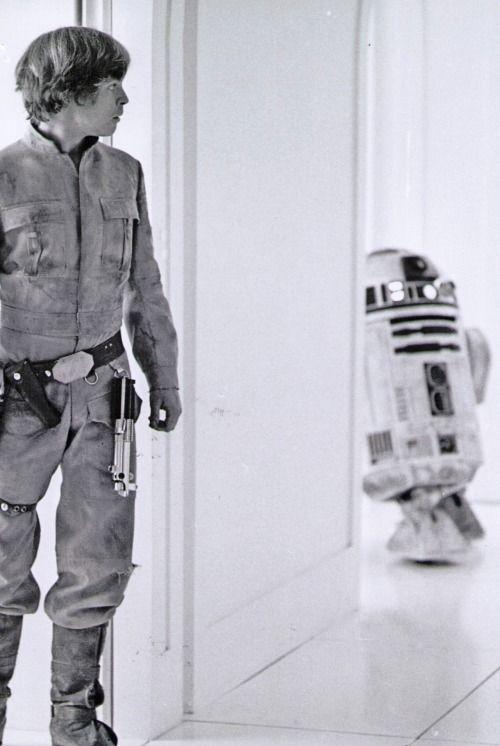 nickdrake:  Luke and R2D2.