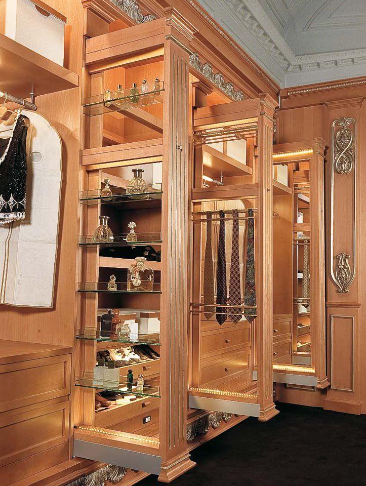 Luxury Master Closets 1128 best walk-in closets images on pinterest | dresser, master