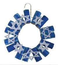 Hanukkah Wreath and other crafts