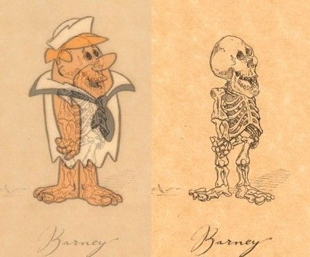 Best Cartoon Skeleton Images On Pinterest Cartoon Characters - Skeletons favourite childhood cartoon characters
