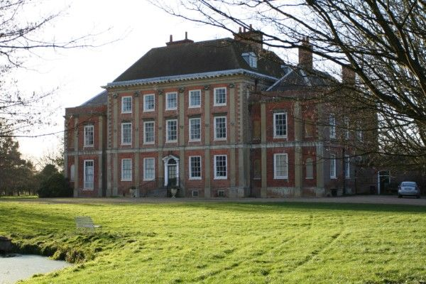 Milton Manor House: 18th century house built by Inigo Jones for Bryant Barrett, lacemaker to King George III.