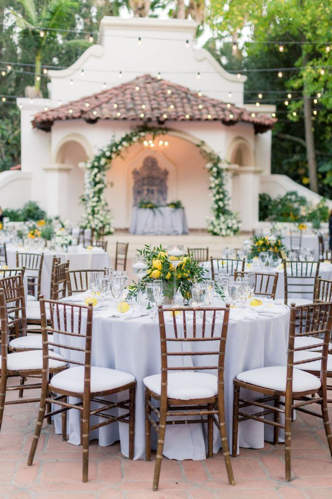 Tuscany Inspired Wedding With Chic Citrus Details Greenery Decor