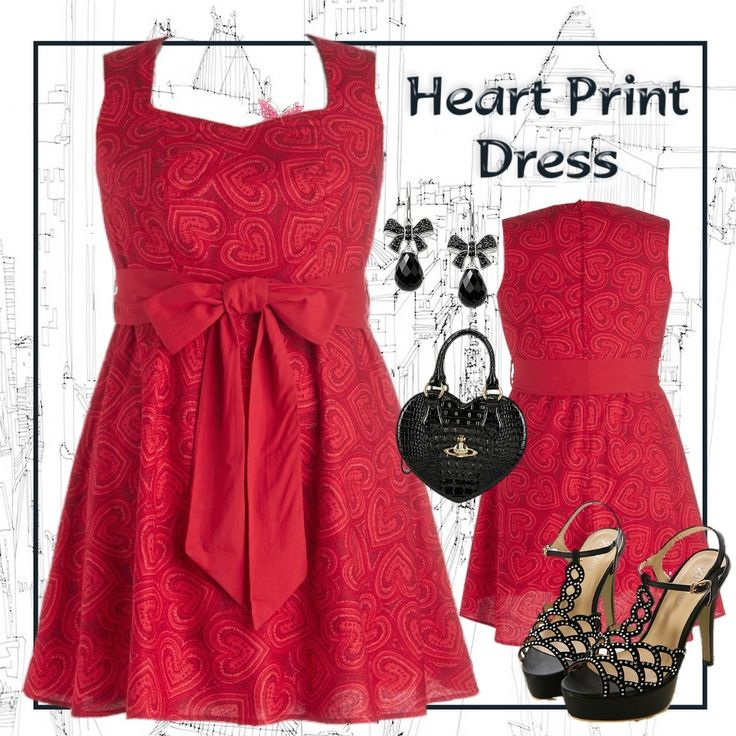 Heartbreaker Heart Print Dress for Special Occasions - Plus Size 22 - City Style Chic:   http://www.citystylechic.com.au/new-arrivalsheartbreaker-heart-print-dress-for-special-occasions $54.50 AUD (free shipping within Australia)