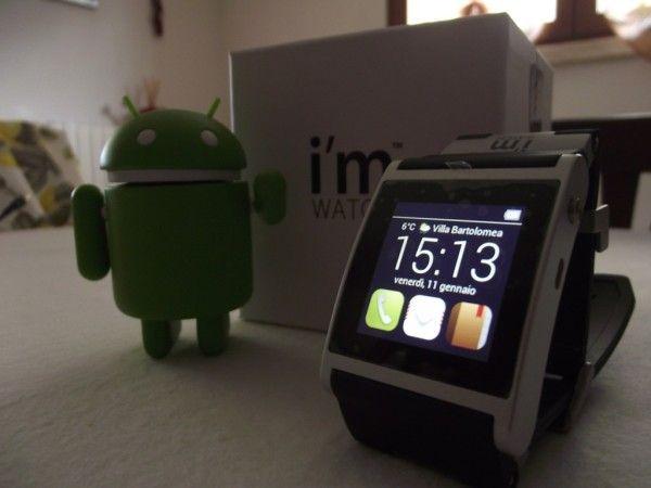 Recensione a cura di @Francesco Santoro di i'm Watch, il primo Smart Watch tutto italiano con SO Android.