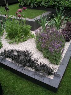 erhöhtes Beet anthrazit – Garten Sichtschutz und Gestaltung