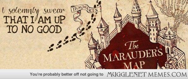 Harry Potter Book Facebook Cover : I made a marauder esque facebook cover image today instead