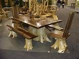 Aspen Log Bedroom Set