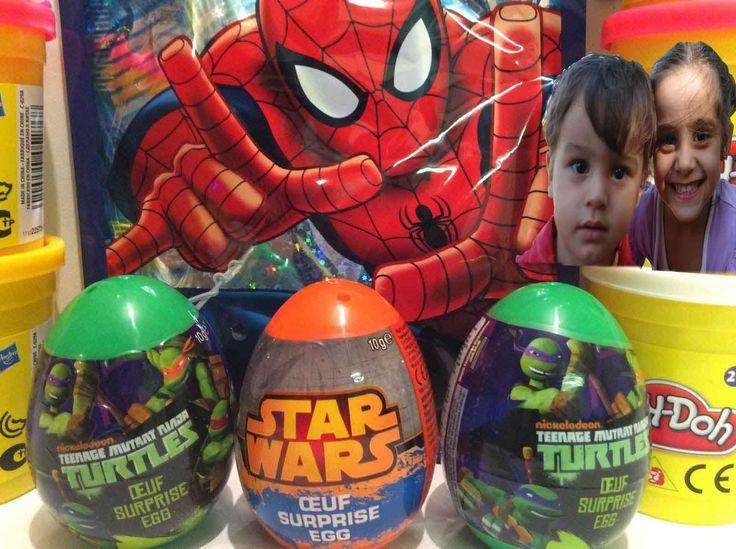 Sürpriz yumurtanın içinden çıkan süper oyuncaklar