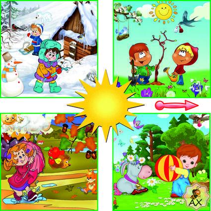 Čtvero ročních období a děti