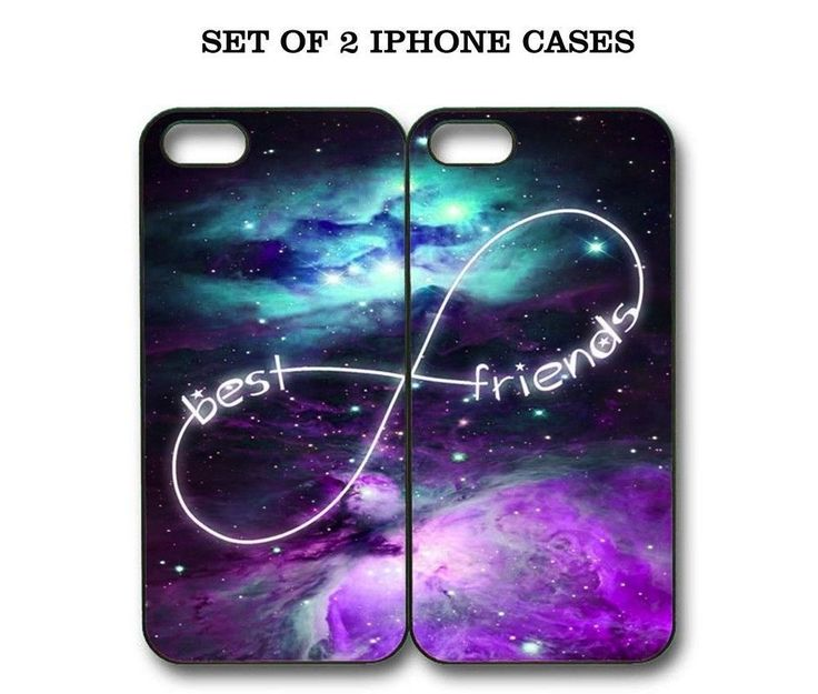 Custom Mint Purple Nebula BFF Best Friends Case -2 Cases For iPhone and Samsung #UnbrandedGeneric