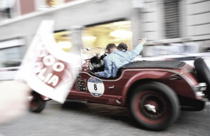 Mille miglia 2016 Parma via Pisacane