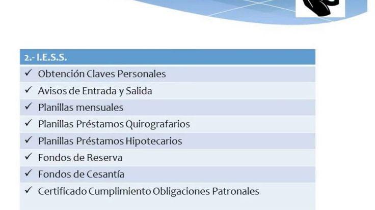 SERVICIOS CONTABLES, TRIBUTARIOS Y LABORALES