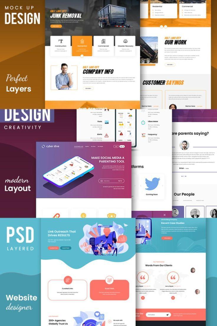 I Will Design Psd Website Mockup Or Psd Web Design Fiverr In 2021 Web Design Psd Web Design Website Design Services