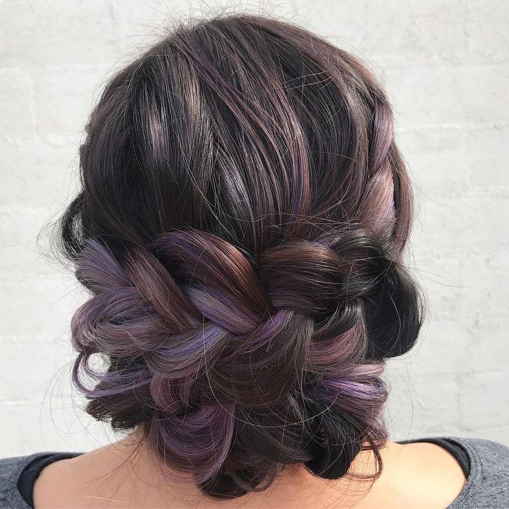Mermaid Hairstyles 113 Best Mermaid Hair Images On Pinterest  Colourful Hair Hair