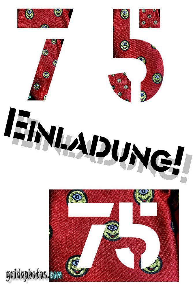 Einladung Zum 75 Geburtstag Gestalten Geburtstag Einladung In 2020 Geburtstag Einladung Vorlage Einladung Geburtstag 75 Geburtstag