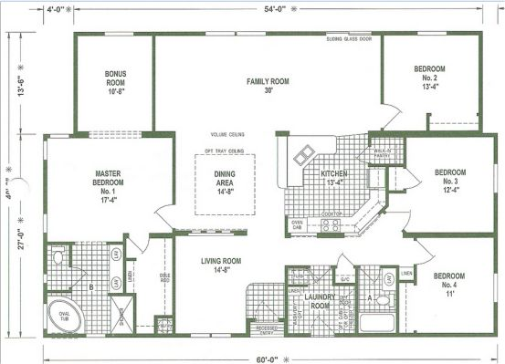 Best 25 mobile home floor plans ideas on pinterest for 14 wide mobile home floor plans