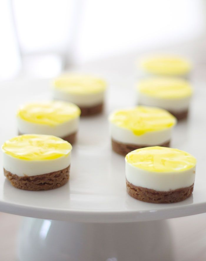 Winnende recept Heel Holland bakt: citroencheesecakejes van Rutger-Pinterest: Hamza│₪  The Land of Joy