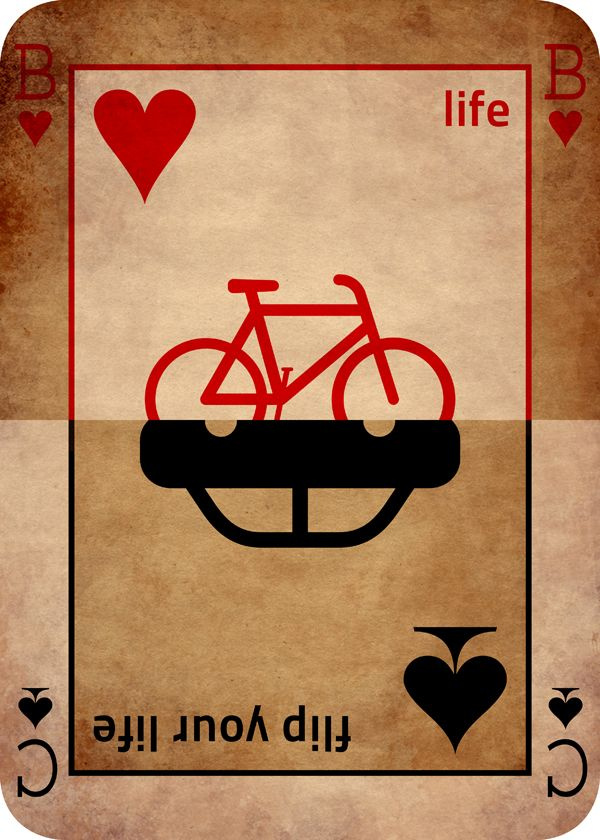 Flip your life | BICYCLE GRAPHIC DESIGN | Regràfica