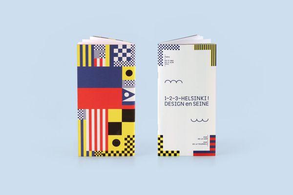 1–2–3–Helsinki ! Design en Seine by Werklig , via Behance