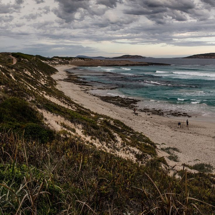 Fourth beach, Esperance. Part of a panorama