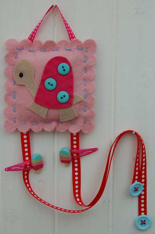 Hair Clip Organizer so nice, going to make my twin granddaughters one