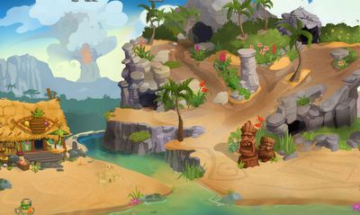 Animal Jam Old Crystal Sands - It Would Be Great For Role Playing Warrior Cats - #WarriorCats.