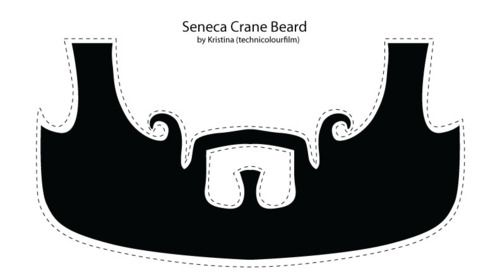SENECA CRANE BEARD PRINTABLE. #hungergames
